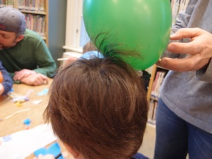 static electricity and hair